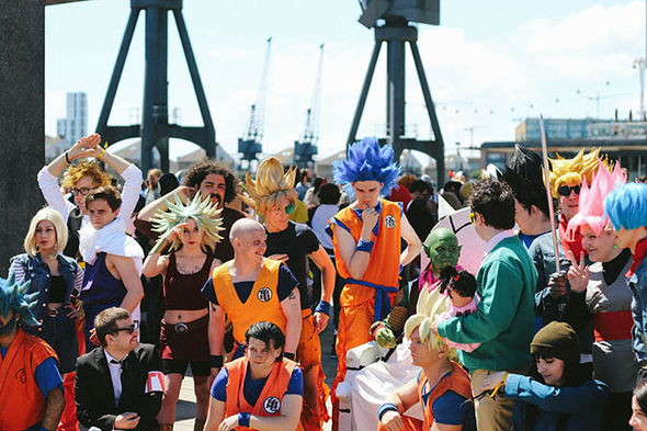 mcm london comic con in pictures  best cosplay photos from comic and gaming convention