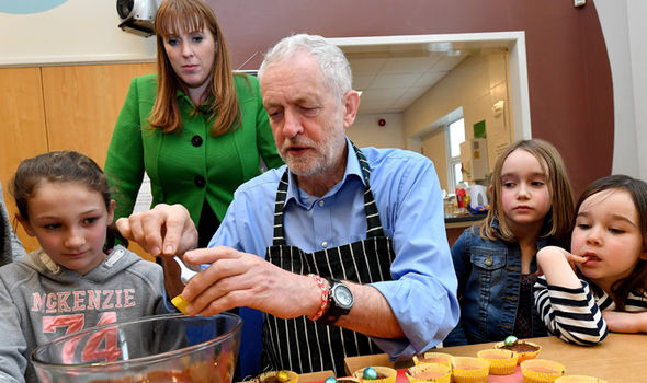 Corbyn recently announced plans to introduce free school meals across the country