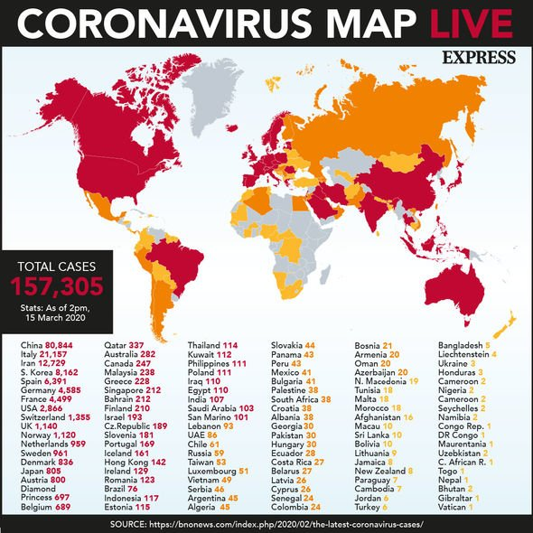Coronavirus UK map tracker: Check how many confirmed cases in YOUR ...
