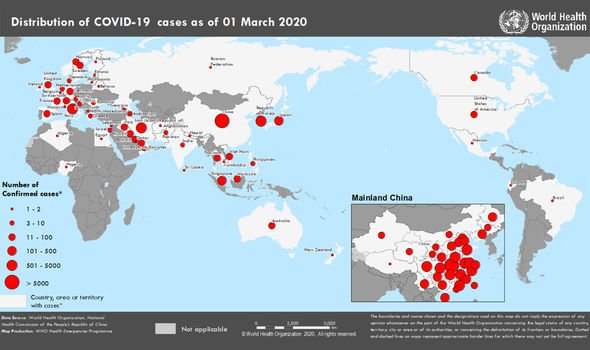 Coronavirus UK tracker: Where has coronavirus been confirmed in ...
