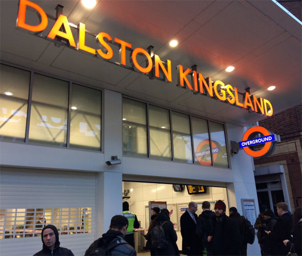 London Overground said it believes a customer battery pack caused the explosion