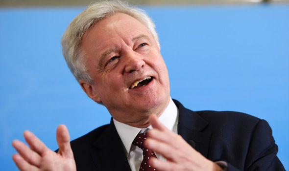 David Davis is expecting 'some passing backwards and forwards' as the Lords try to amend the Bill
