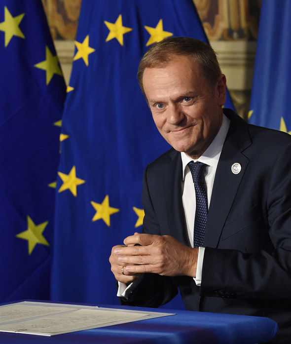 Donald Tusk in Rome
