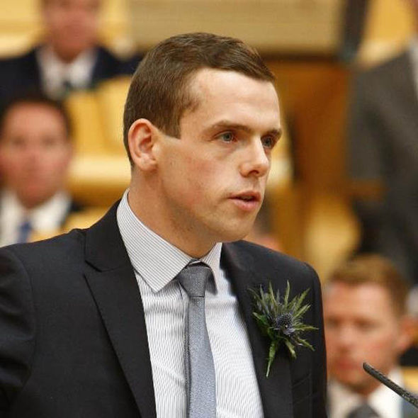 Douglas Ross of Scottish Tories
