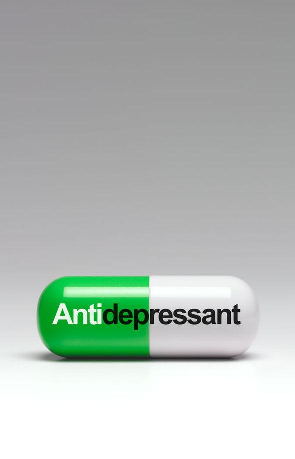 Antidepressant pill