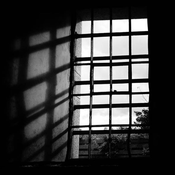 Window in prison