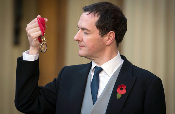 George Osborne is already set to recieve a six-figure salary from BlackRock