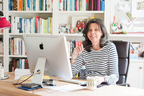 Helen Bailey in her home