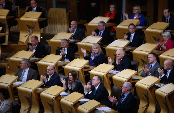 MSPs in Holyrood