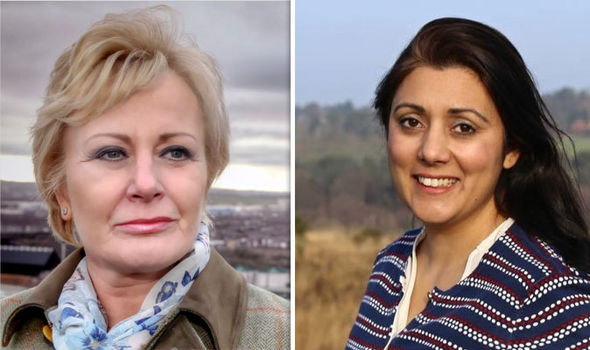 Nusrat Ghani and Jane Collins