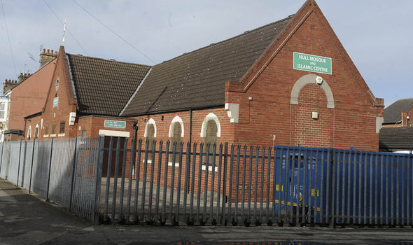 The attack took place inside the mosque in Hull