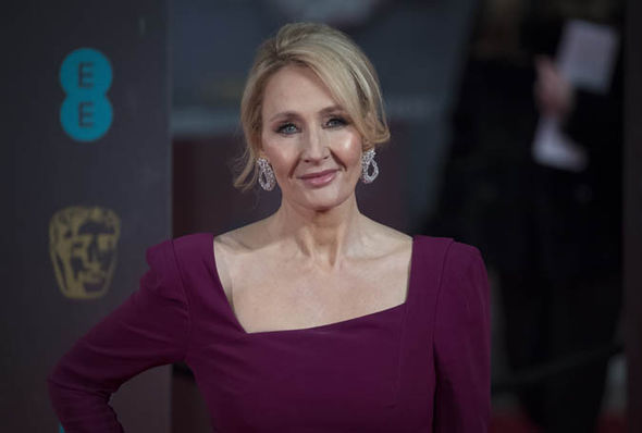 JK Rowling smiling
