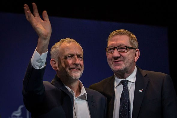Jeremy Corbyn: McCluskey was a close ally of Jeremy Corbyn during his leadership