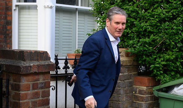 Keir Starmer: The Labour leader has promised to renew the party's vision and direction