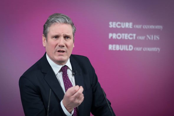 Keir Starmer: The Labour leader was in the firing line this week amid the Matt Hancock debacle