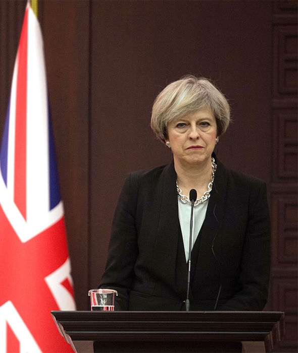 Theresa May is determined to get on with Brexit