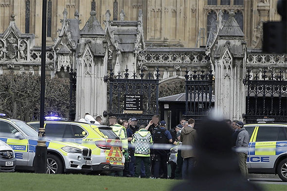 Police response outside Westminster