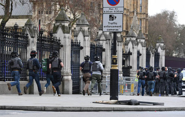 London terror attack officer stabbed