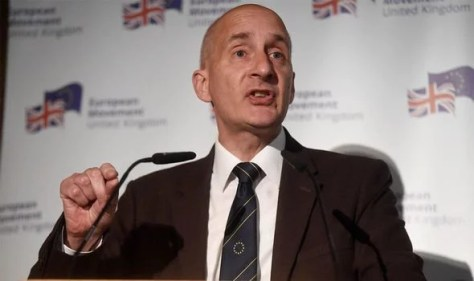 Lord Adonis: The Labour peer suggested Tony Blair should be re-elected as Labour leader