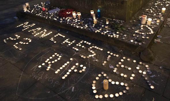 Vigil held for the 22 victims in Albert Sqaure