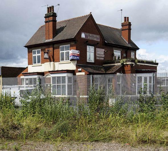 former Whitemore Whistle pub