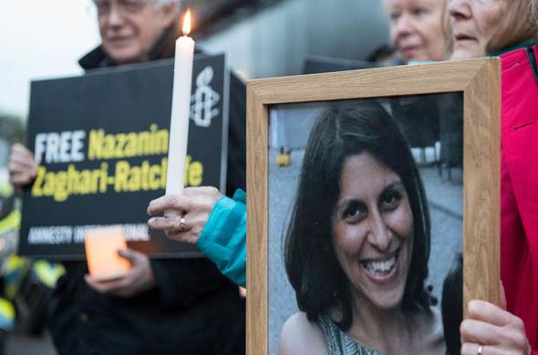 Nazanin Zaghari Ratcliffe vigil