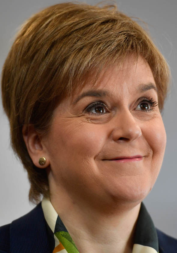 SNP leader Nicola Sturgeon second referendum