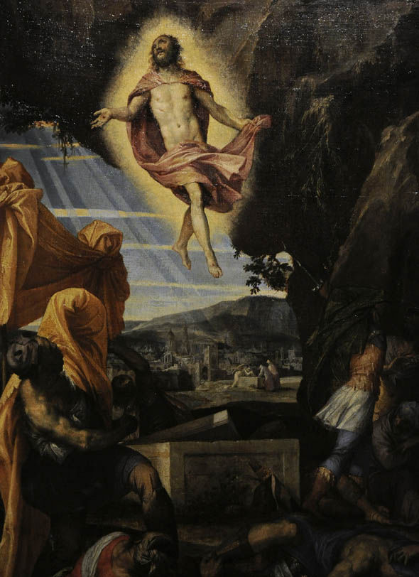 Paolo Veronese's depiction of the resurrection