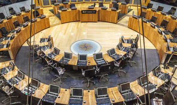 The Welsh Senedd