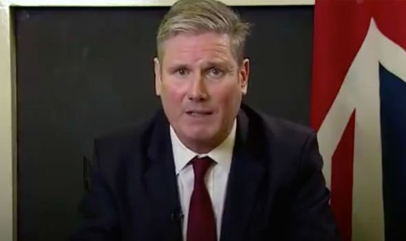 Patriotism: Starmer has for the past year embarked on making Labour the 'patriotic party'