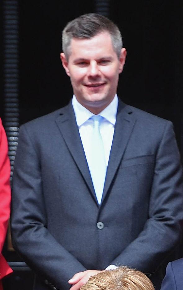 Derek Mackay smiling