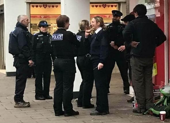 Police take ducks
