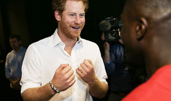 Prince Harry boxing mental health