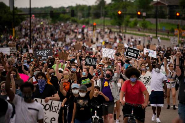 Protesters take to the streets of the US