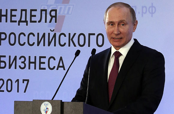 Putin announced his plans to run in Russia's elections next year