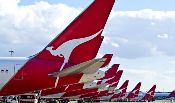 Quantas aeroplanes