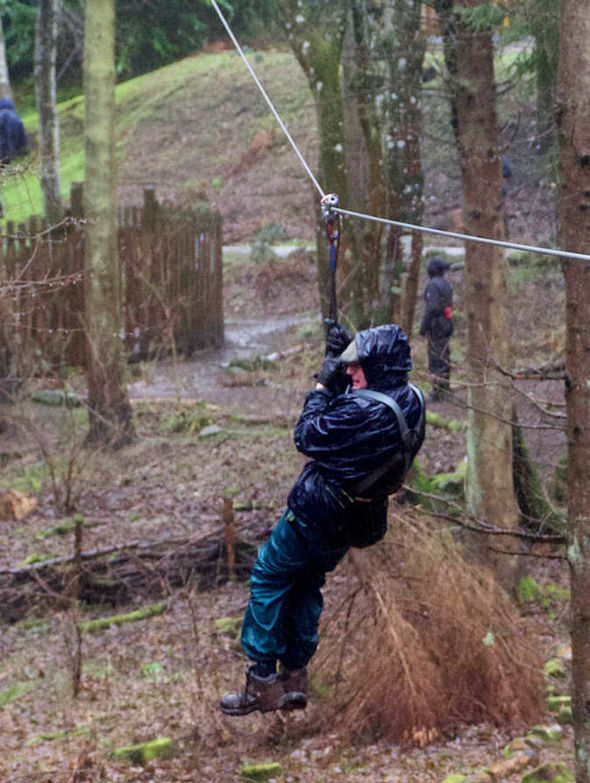 Raymond Over at Go Ape