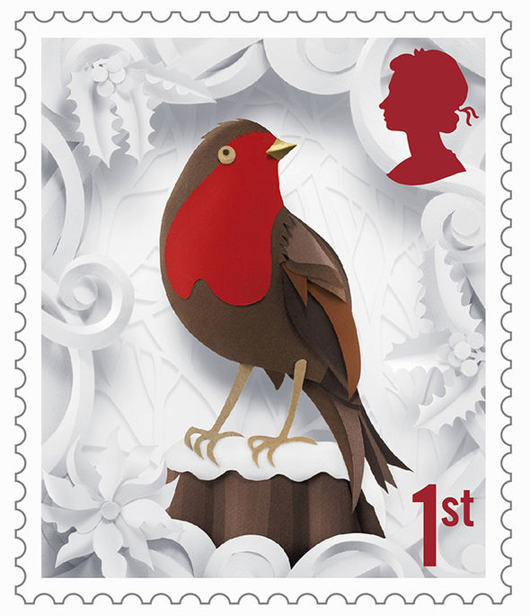 Royal Mail Christmas Stamps New Set Including A Snowman