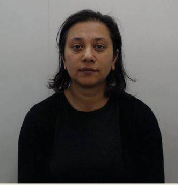 Salina Sharif's mugshot