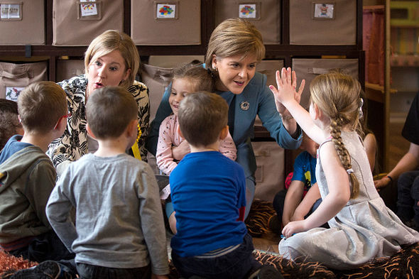 Early years intervention involves sex education for infants in Scotland