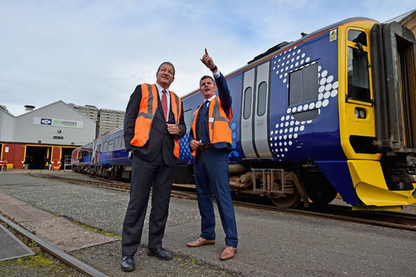 ScotRail boss Phil Verster