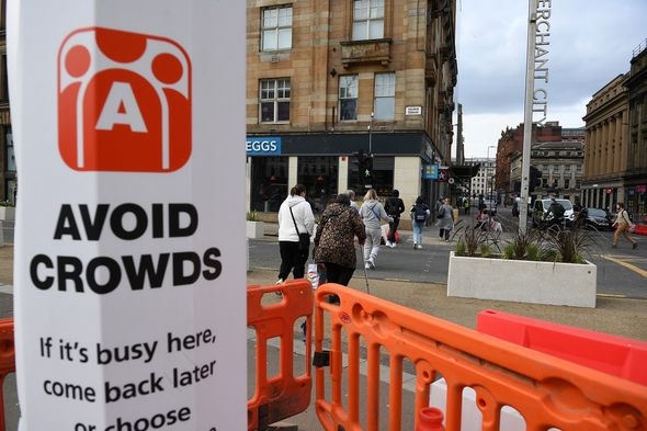 Scotland began to ease lockdown last month