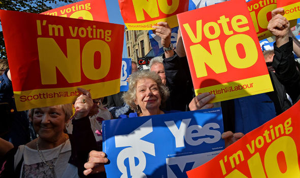 Scotland voted to remain part of the UK less than three years ago