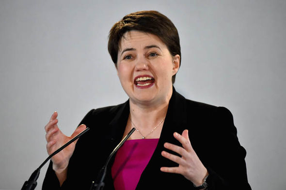 Scottish Tory leader Ms Davidson