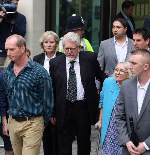 Seven females claimed to the court that Rolf had groped them