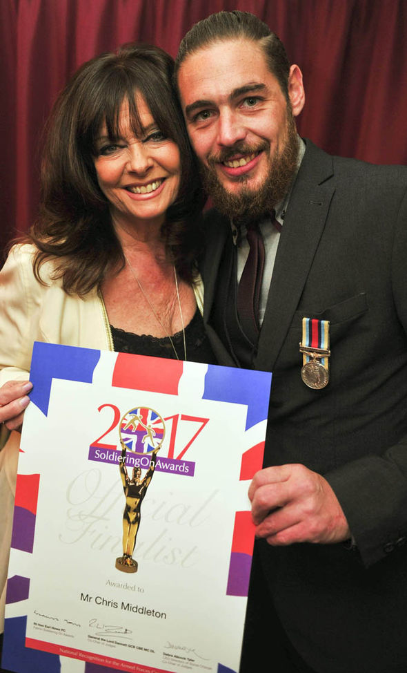 Vicki Michelle with Chris Middelton
