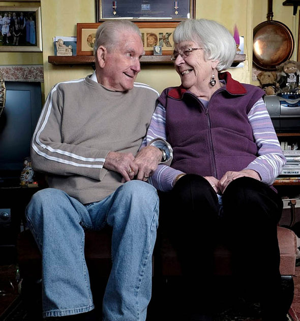 Couple celebrate 70 years