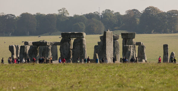 Stonehenge was built between 4,000 and 5,000 years ago