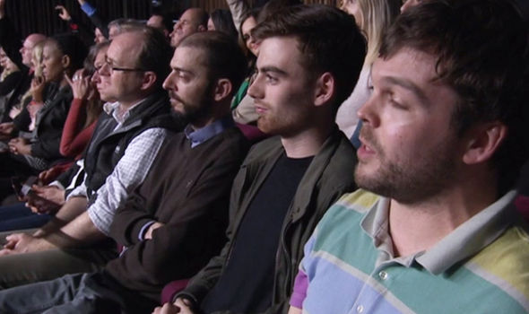 The audience member's EU putdown was applauded by the Bangor debate attendees