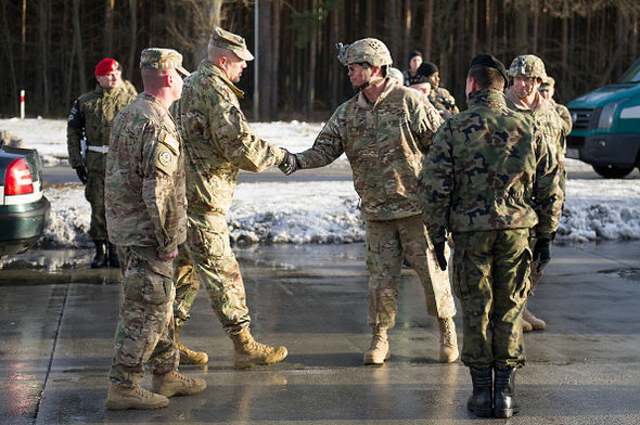 US NATO troops have recently arrived in Poland for new training exercises
